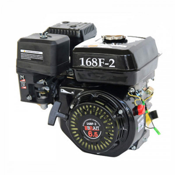 Двигатель BRAIT BR168F-2 (6,5 л.с., шкив 19 мм)