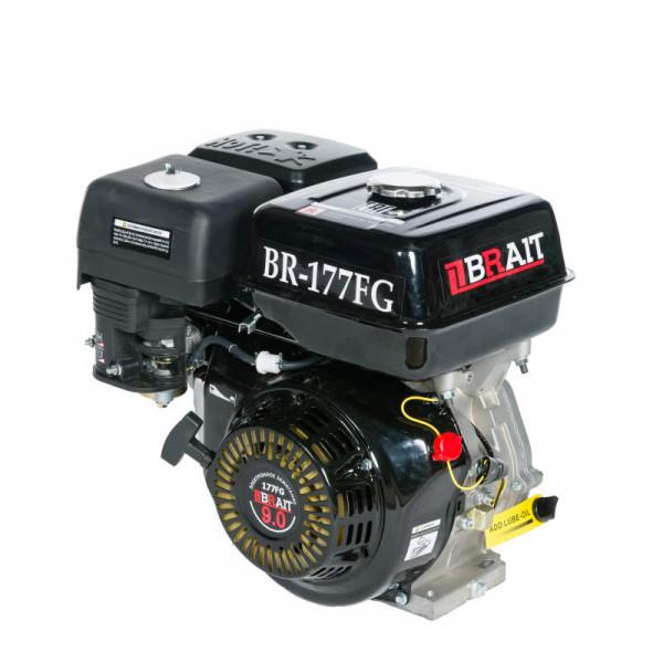Двигатель  BRAIT BR-177F  (9 л.с., шкив 25мм)