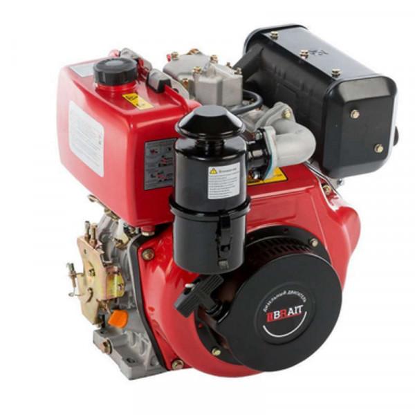 Двигатель  BRAIT BR300DE (дизель, 7 л.с., шлицы 25мм)