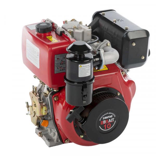 Двигатель BRAIT BR400DE (дизель,10 л.с, 25мм шлицы)