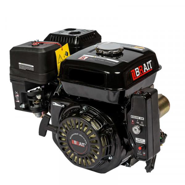 Двигатель  BRAIT BR-192FD  (17л.с.,шкив 25мм, электро стартер)