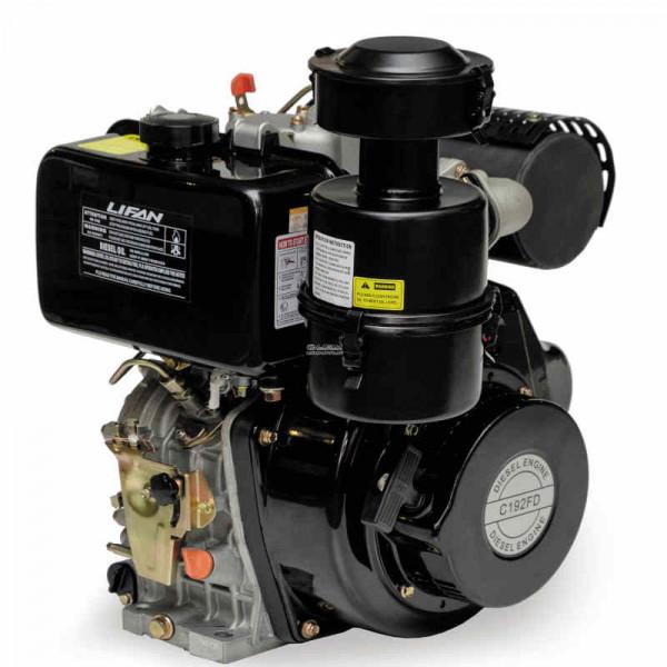 Двигатель LIFAN C192FD dizel  (13 л.с., 25мм, электрозапуск)