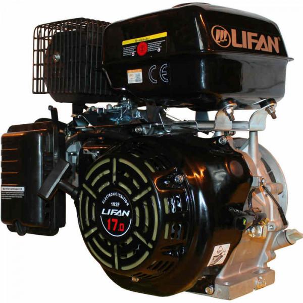 Двигатель LIFAN 192FD   (17 л.с. 25 мм, электростартер)