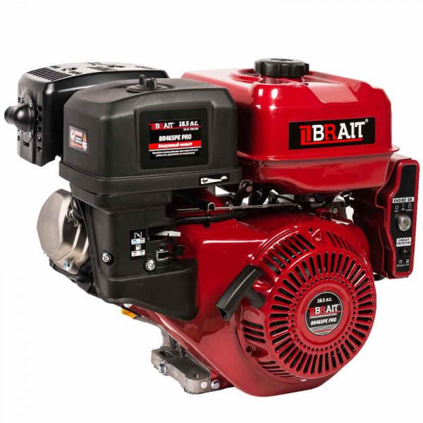 Двигатель PRO BRAIT BR445P (17 л.с.,25мм, эл. стартер, катушка 14В18А)
