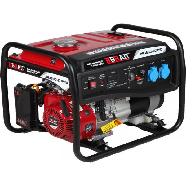 Генератор бензиновый BR3800-CU