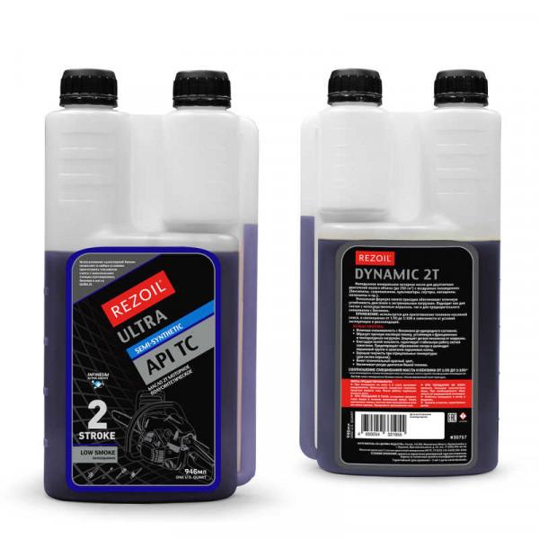 Масло REZOIL ULTRA 2-т. полусинтетическое (ДОЗАТОР)  API TC