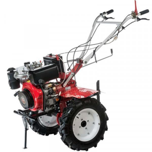 Мотоблок дизельный BRAIT-135DEA (7л.с) колеса 5.00*12, ВОМ, дифференциал, в комплекте фрезы (4-ряда).