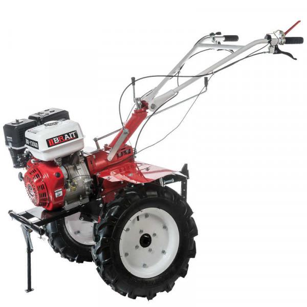 Мотоблок бензиновый BRAIT-135GBD (9л.с) колеса 5,00*12, ВОМ, дифференциал, в комплекте фрезы (5-рядов).