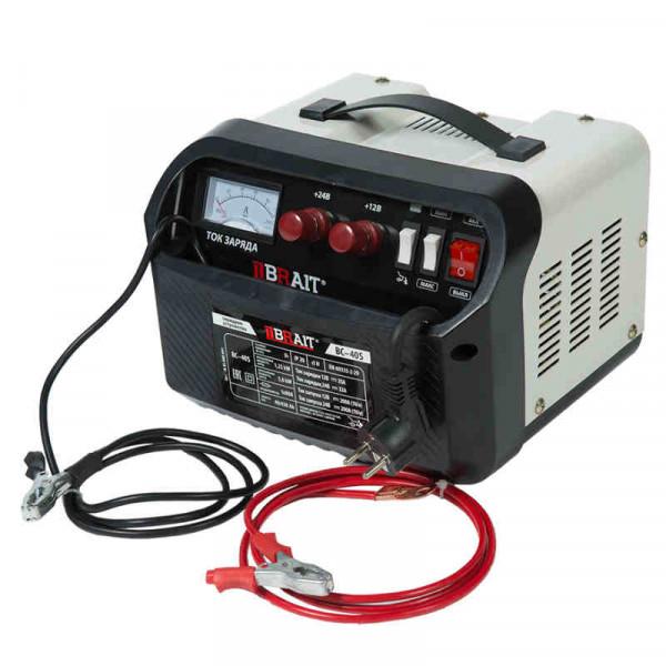 Устройство пуско-зарядное BRAIT BC-40S (12/24В, 35/32А ,1250Вт, 40-430, пуск 200А/5,8кВт )