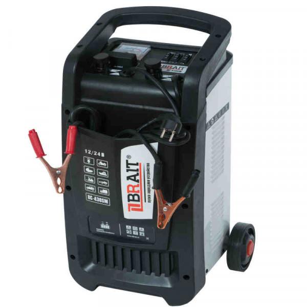 Устройство пуско-зарядное BRAIT BC-430SM (12/24 В, 30-700 Ач; 2,3 кВт, 60А: пуск 8,4 кВт, 400А)