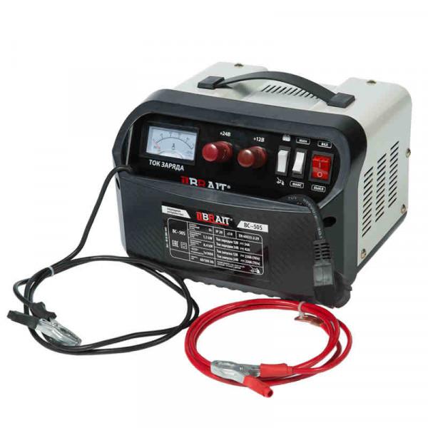 Устройство пуско-зарядное BRAIT BC-50S (12/24В, 34/42А ,1500Вт, 60-500, пуск 250А/8,4кВт )