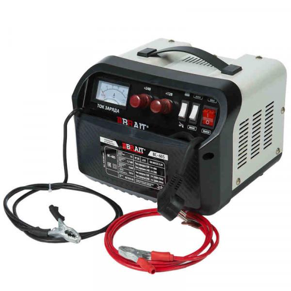 Устройство пуско-зарядное BRAIT BC-60S (12/24В, 40/50А , 1700Вт, 60-550, пуск 260А/9кВт )