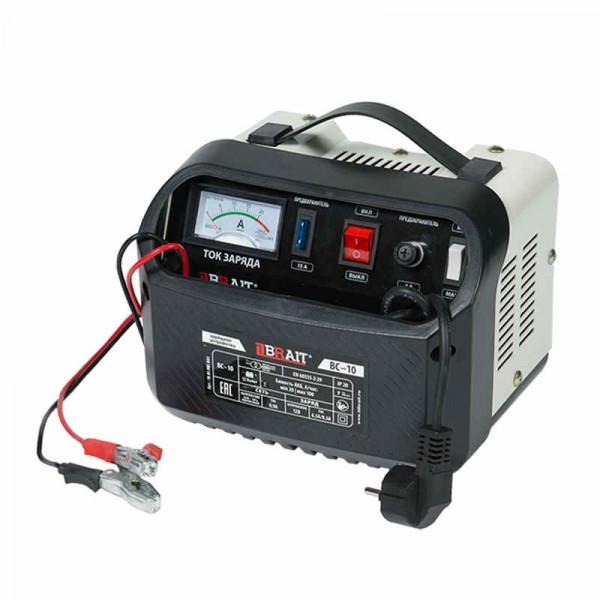 Устройство зарядное BRAIT BC-10 (12/24В, 12-100А/ч,  4А/10А, 160/290Вт)