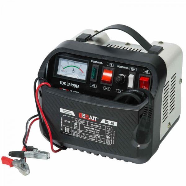 Устройство зарядное BRAIT BC-40 (12/24В, 35-300А/ч, 28А/40А,360/720Вт)