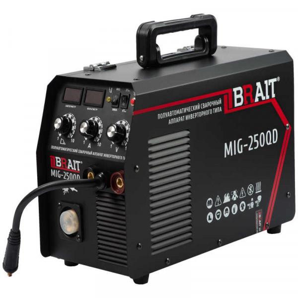 Инвертор сварочный п/автомат BRAIT MIG-250QD