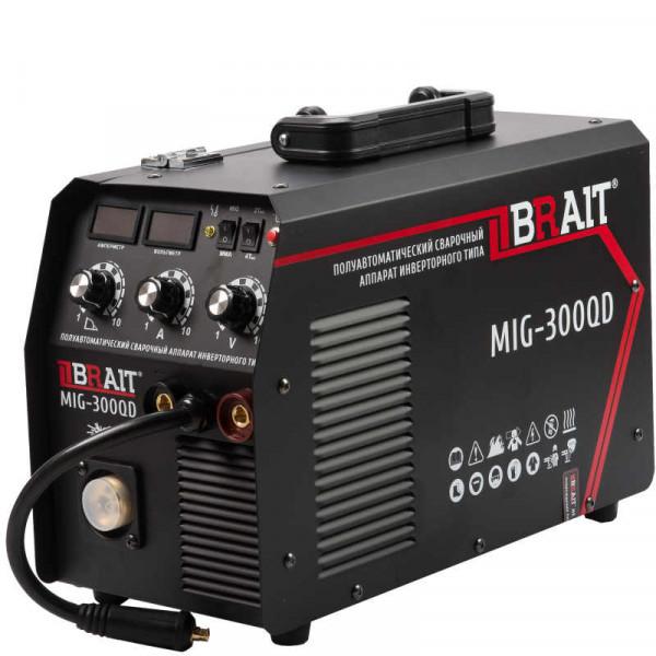Инвертор сварочный п/автомат BRAIT MIG-300QD