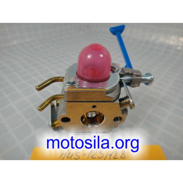 карбюратор бензотриммера хускварна r125. r128
